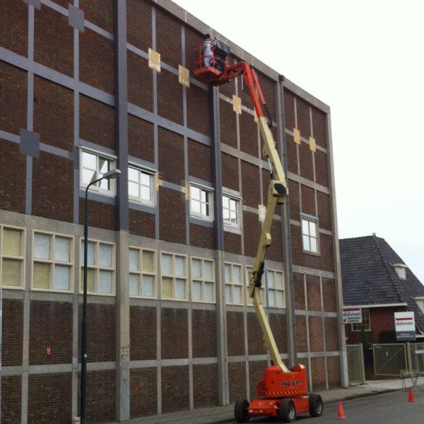 Buitenschilderwerk fabriek-veenendaal-schildersbedrijf-jvanDijk-veenendaal