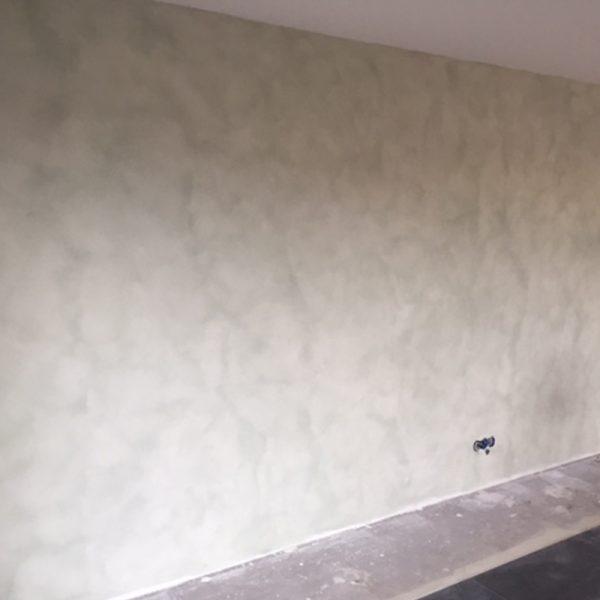 Renovlies met betonlook verf, schildersbedrijf J. van Dijk Veenendaal