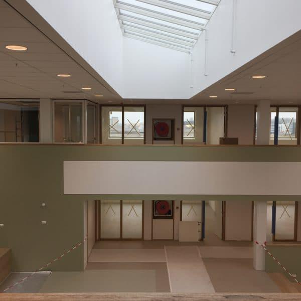Schilderwerk school Almere - Schildersbedrijf J. van Dijk & Zn.