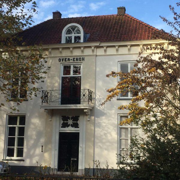 Buitenschilderwerk Villa Overengh - Schildersbedrijf J. van Dijk & Zn. B.V. Veenendaal